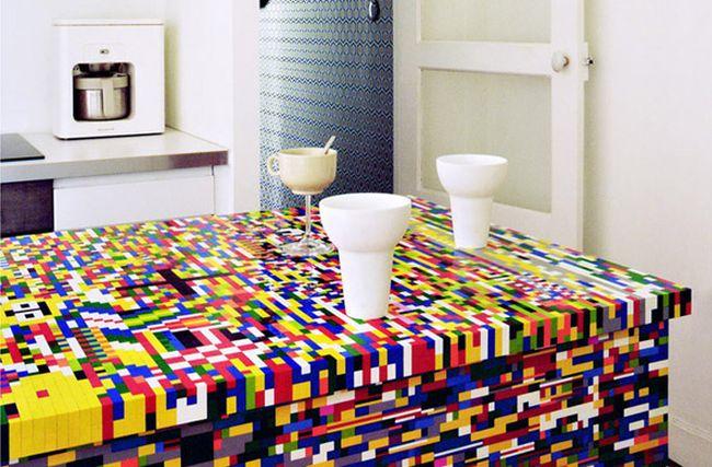 Munchausen Lego themed kitchen_2