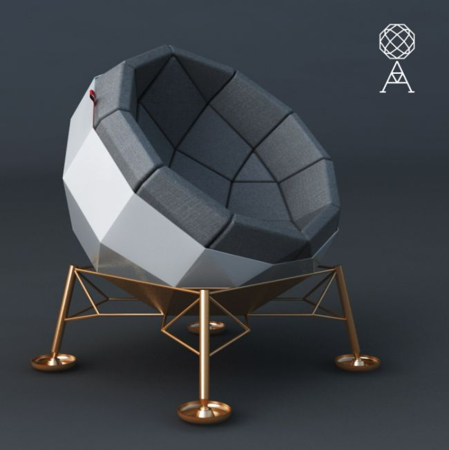 Space Inspired Apollo Chair By Marcos Madia