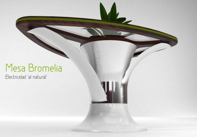 Bromelia USB Table by Daniel Gestoso_1