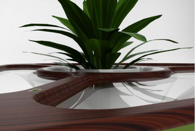 Bromelia USB Table by Daniel Gestoso_5