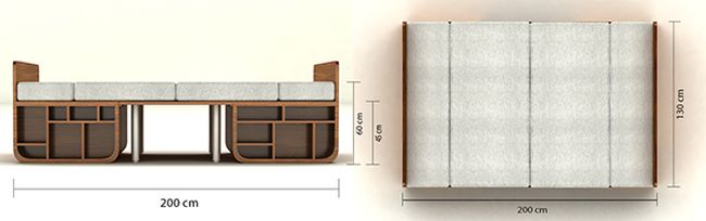 Combo - Multifunctional Furniture by Goce Milanoski_2