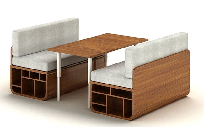 Multifunctional Combo Furniture System By Goce Milanoski
