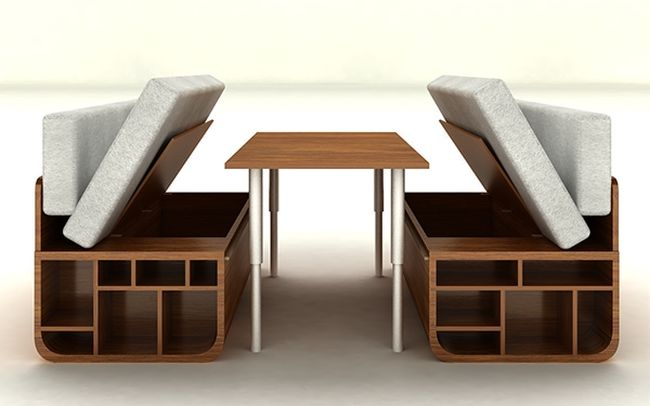 Combo furniture system home harmonizing for Functional furniture