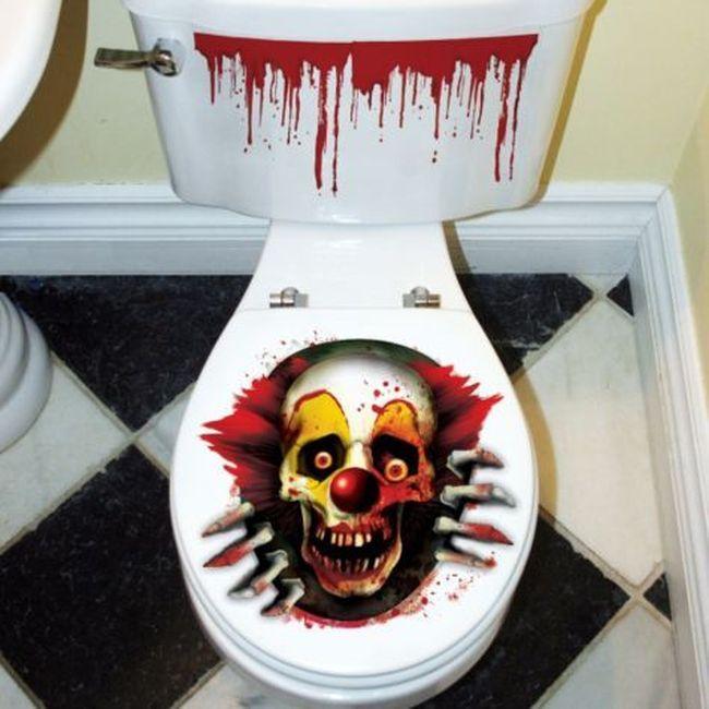 Creepy Carnival Toilet Seat Grabber