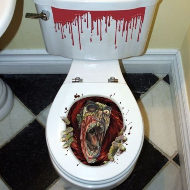 Ghoul Toilet Seat Grabber