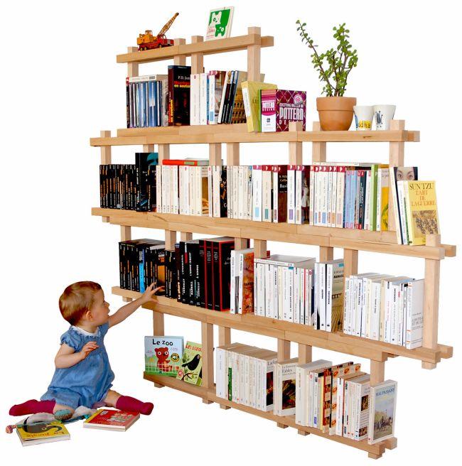 Organic shelf D-square by Yvon Luneau_2