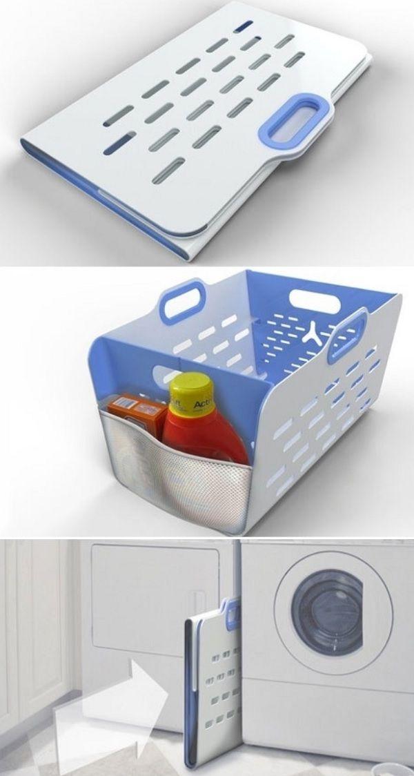 The folding laundry basket_1