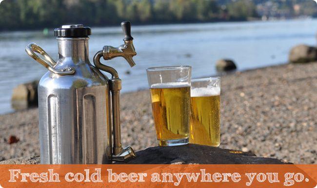 The uKeg Pressurized Growler for Fresh Beer by GrowlerWerks_4