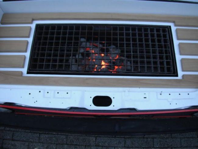 Volkswagen Rabbit GTI BBQ Grill_5