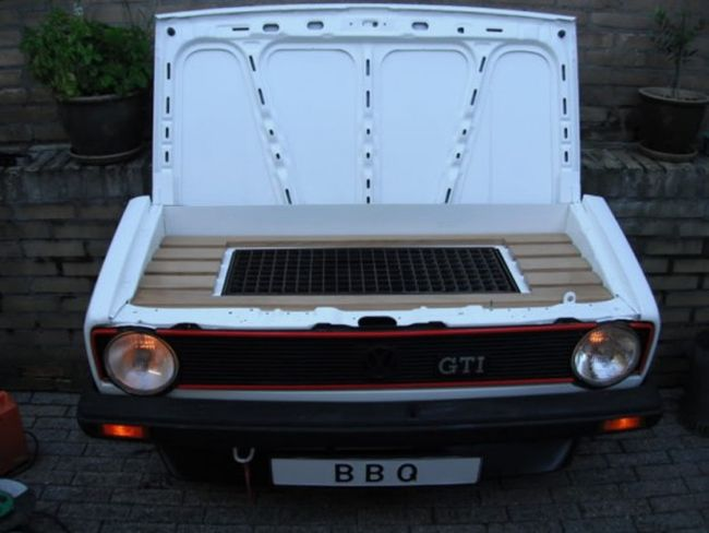 Volkswagen Rabbit GTI BBQ Grill_6