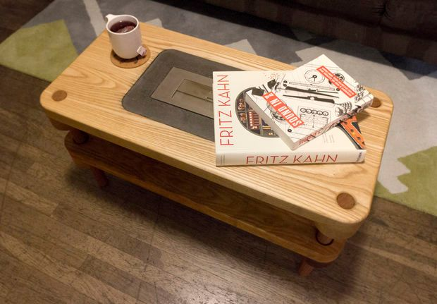 Jonathan Odom's DIY version of a Fireplace Coffee Table _2