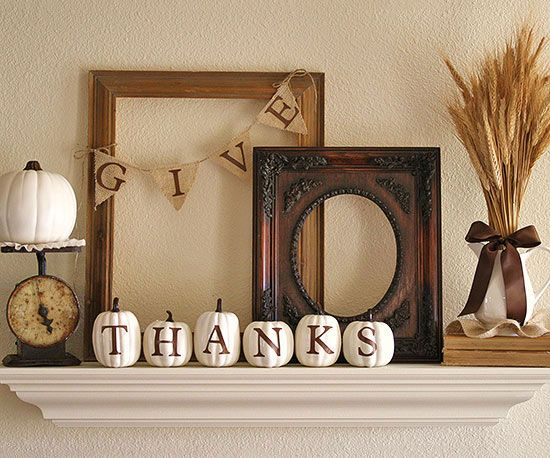 Thanksgiving Decoration Ideas with Pumpkins_1