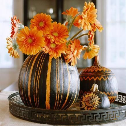 Thanksgiving Decoration Ideas with Pumpkins_2