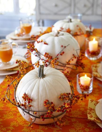 Thanksgiving Decoration Ideas with Pumpkins_3