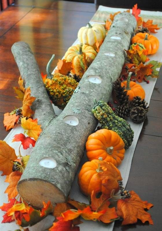 Thanksgiving Decoration Ideas with Pumpkins_8