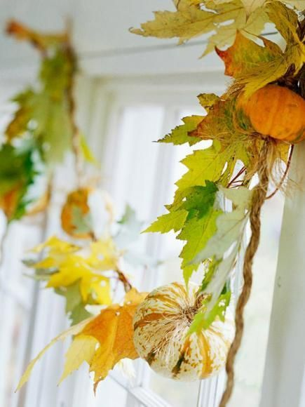 Thanksgiving Decoration Ideas with Pumpkins_9