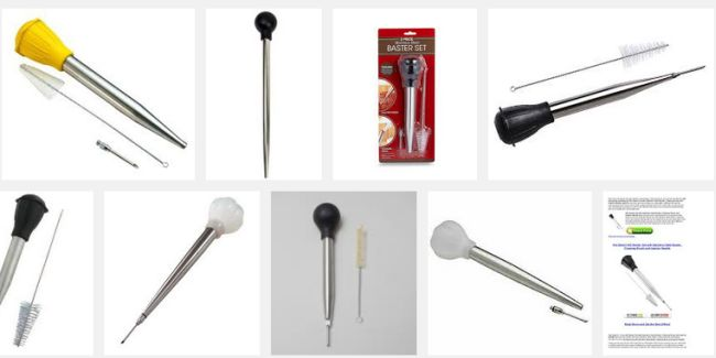 The Norpro Stainless Steel Bulb Baster Set_8