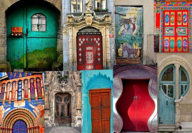 10 unique and never-seen-before door designs