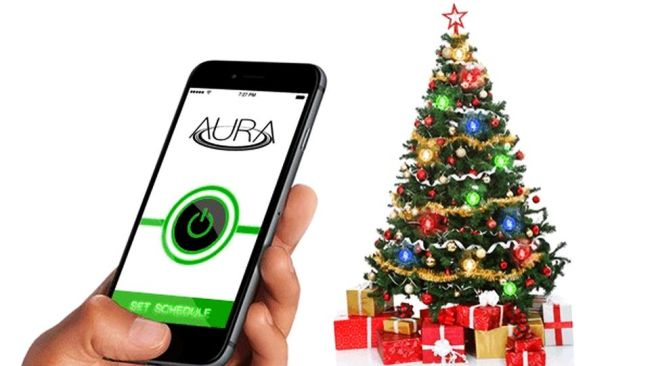 AURA wirelessly powered Christmas lights_2