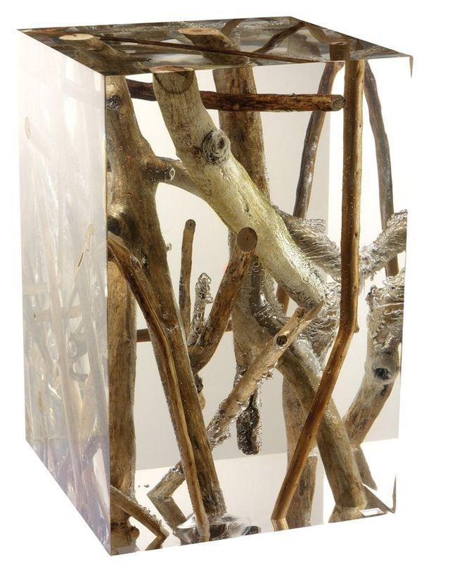 Acrylic Side Table by Michael Dawkins_1