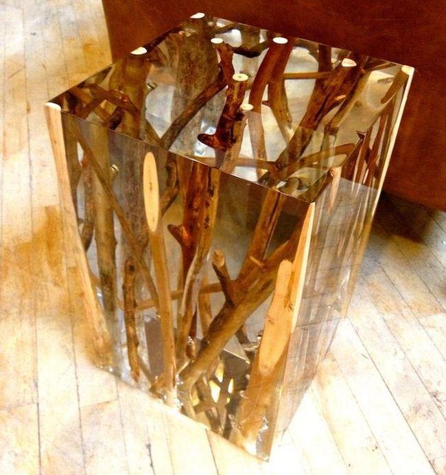 Acrylic Side Table by Michael Dawkins_4