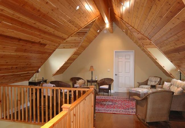 How To Finish The Attic Walls And Ceiling