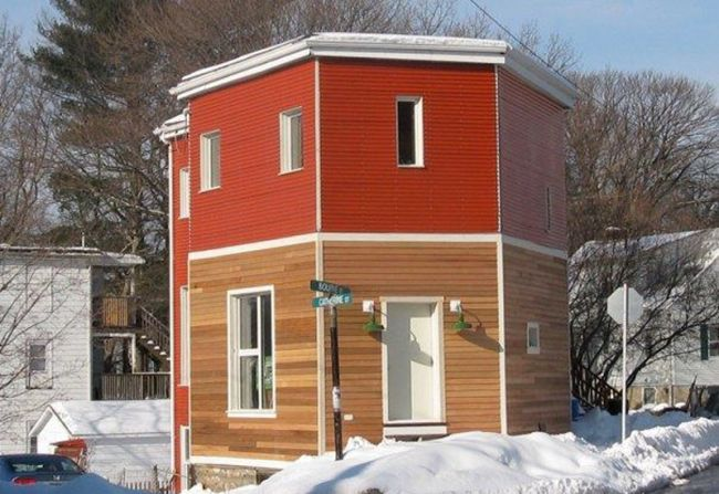 Studio Apartment Jamaica Plain jp green house - a solar powered 'regular' house | home harmonizing!