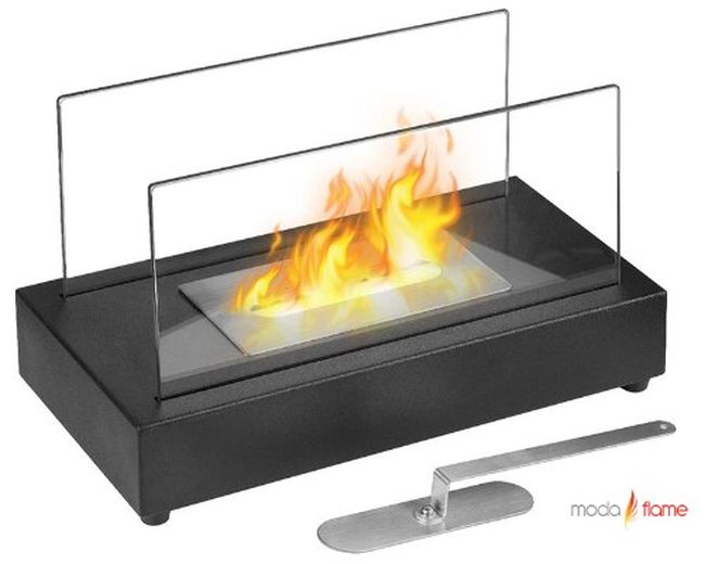 Moda Flame Vigo Ventless Table Top Ethanol Fireplace_1