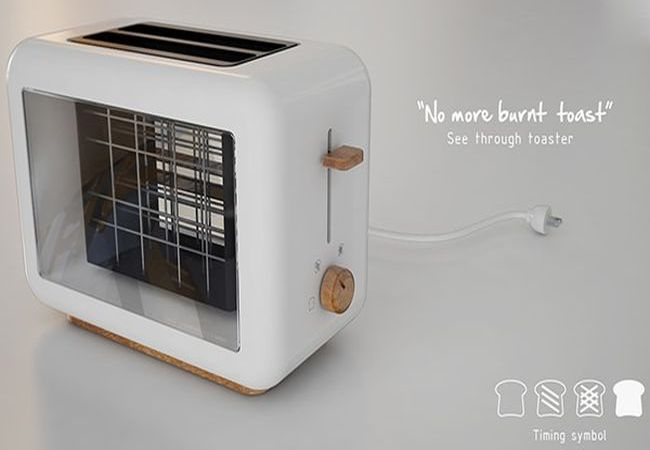 see through toaster by chaya harntaweewongsa. Black Bedroom Furniture Sets. Home Design Ideas