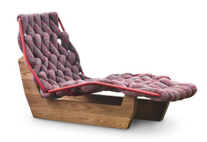 Knitted Biknit chaise lounge_9