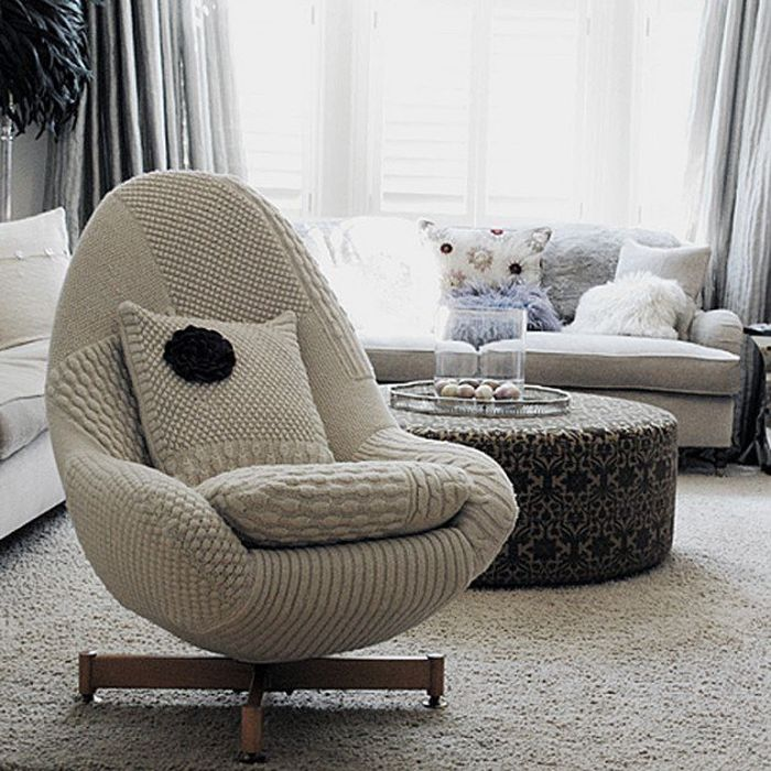 Knitted rocking chair_4