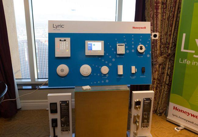 Lyric security system by Honeywell