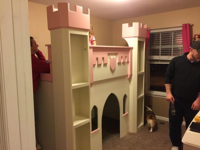 The Princess Castle by Redditor Skerley_12