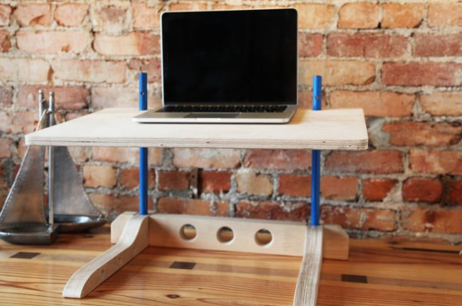 Versatile stand-up desk solution by Michael Bolton_7