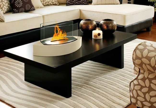 Delightful 8 Super Cool Table Top Fireplaces Designed To Impress You