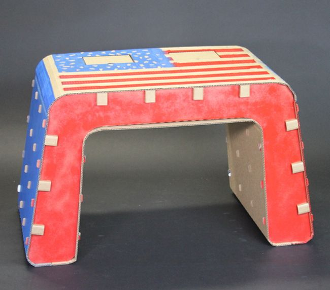 Cardboard Furniture Designed for Kids_4