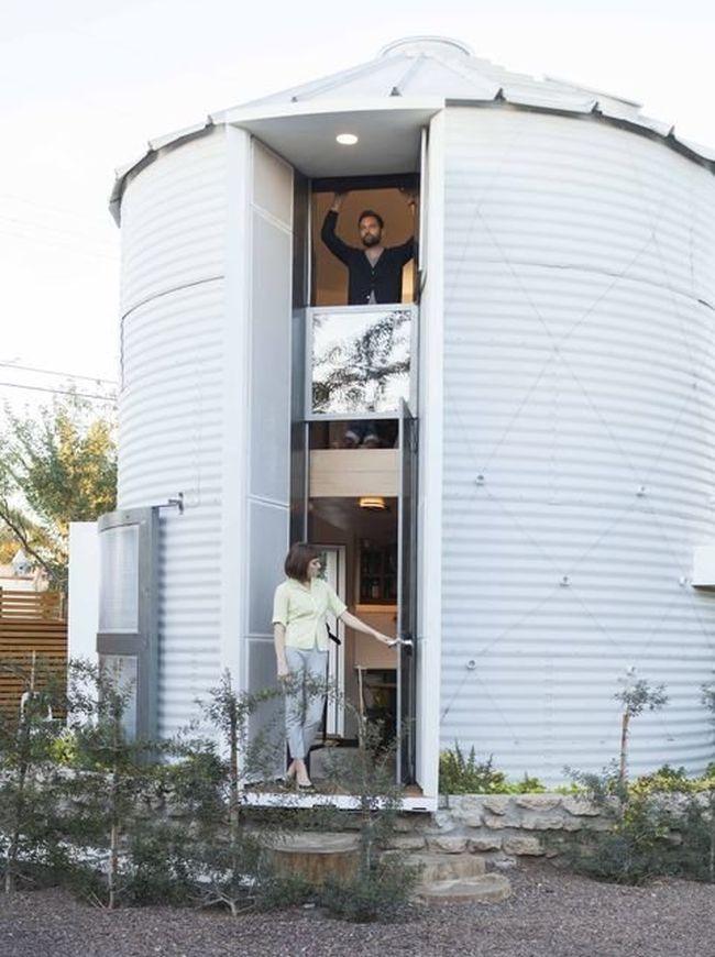 Christoph Kaiser designs his home from a grain silo_1