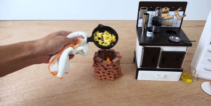 Cook real dishes with a miniature cooking set_2