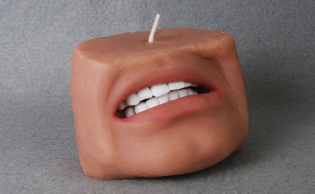 Scented candle design similar to human body parts_3