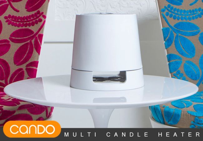 Cando - Multi Candle Powered Heater by Bluehugo_1