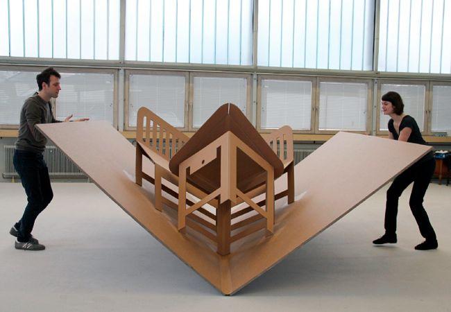 Pop Up Furniture by Liddy Scheffknecht