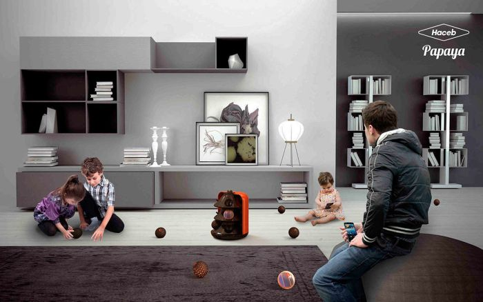 Papaya interactive vacuum cleaner_7