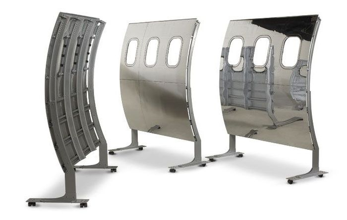 airplane parts furniture Partition Screens from boeing 737 Fuselage