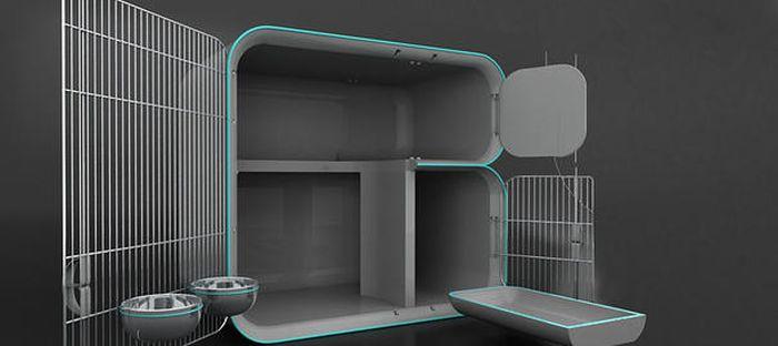 Sera quarantine cat cage_3
