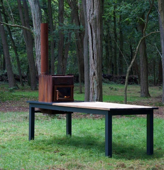 Stovetable fireplace and dining table_2