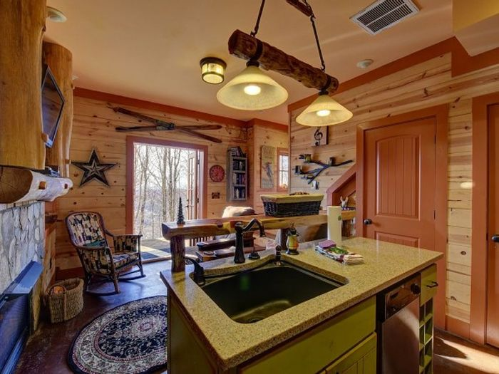 Three-story castle Hobbit House is 850 square feet_5