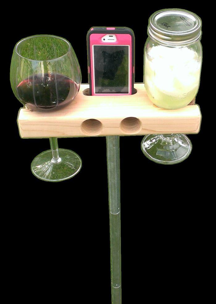 Wine Glass Holder and Smartphone Dock Speaker_2