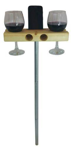 Wine Glass Holder and Smartphone Dock Speaker_4