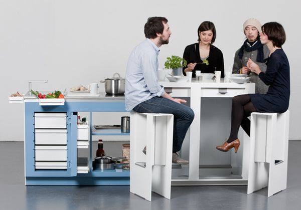 Come Together Concept Modular Kitchen