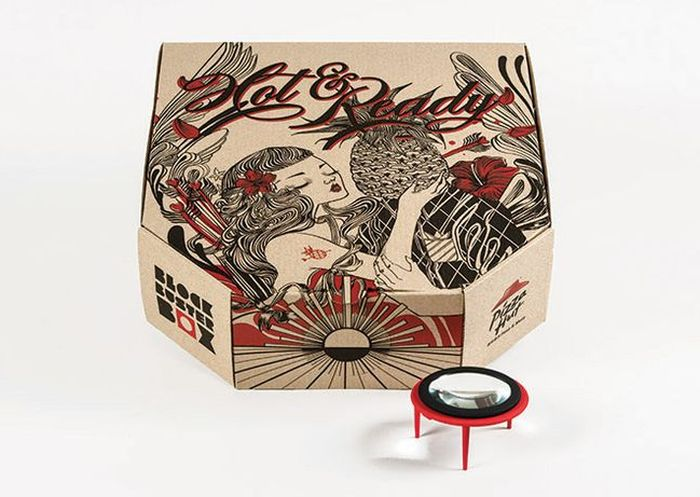Pizza Box doubles as movie projector_1